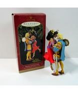 Hallmark Disney Hunchback of Notre Dame Phoebus & Esmeralda Christmas Or... - $9.50