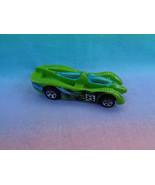 Hot Wheels 1994 Mattel Power Pistons Green Race Car Thailand - $1.34