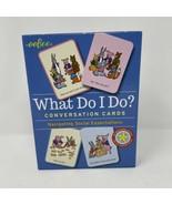 Eeboo What Do I Do? Conversation Cards - $10.88