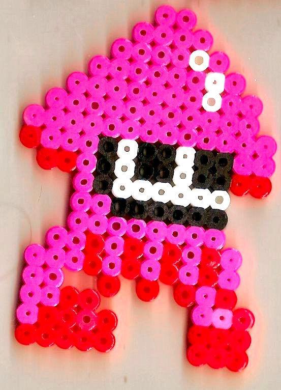 Super Mario Maker Splatoon Squid Bead Sprite And 50 Similar