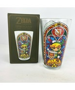 Nintendo Legend Of Zelda Links Collectors Edition Drinking Glass Game Sword - $39.59