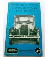 Model A Ford Restoration Repair Handbook 1974 - $20.05