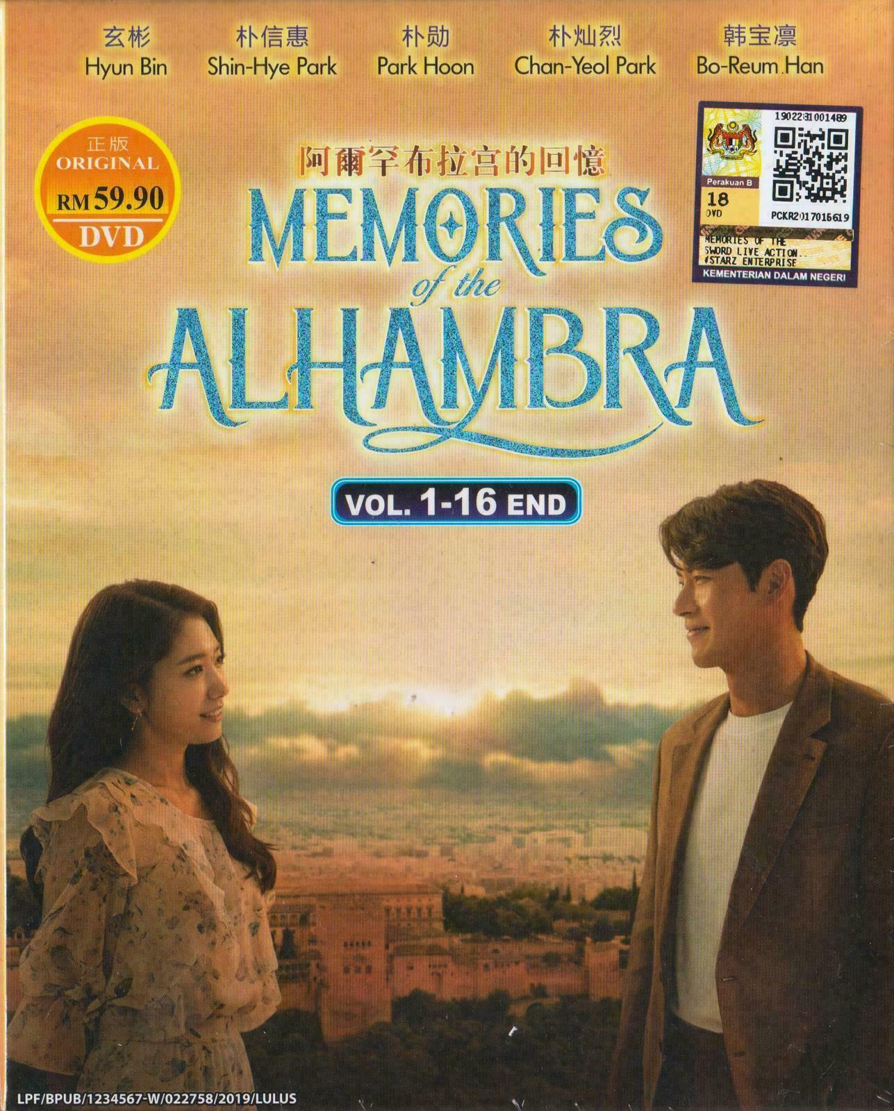 Korean Drama DVD Memories Of The Alhambra (2018) English Subtitle Ship From USA