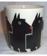 Scottie Dog Coffee Mug Taylor & NG 1984 Made in Japan Scotty Dog Minimals - $25.99