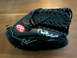 LARRY WALKER 7X GOLD GLOVES EXPOS ROCKIES HOF SIGNED AUTO RAWLINGS PRO G... - $494.99