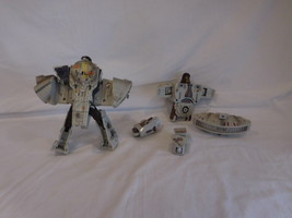 Transformers Star Wars  Millennium Falcon & Plus Extra Figure  For Parts - $17.00
