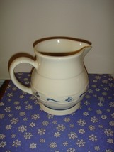 Longaberger Pottery Woven Traditions Pitcher - $12.99