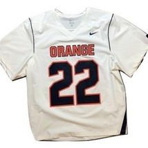 Nike Syracuse Orange Lacrosse Fast Break Jersey Mens Large - $62.96