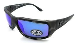 Costa Del Mar Sunglasses Fantail Ocearch Matte Tiger Shark / Blue Mirror... - $162.51