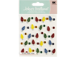Jolee's Boutique Christmas Lights Dimensional Stickers #50-20495