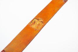 Southwestern Thunderbird Leather Bookmark - $10.00