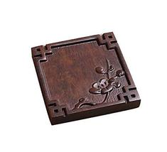 Panda Superstore 2 Pieces Of Creative Ebony Orchid Pattern Coaster - $18.85