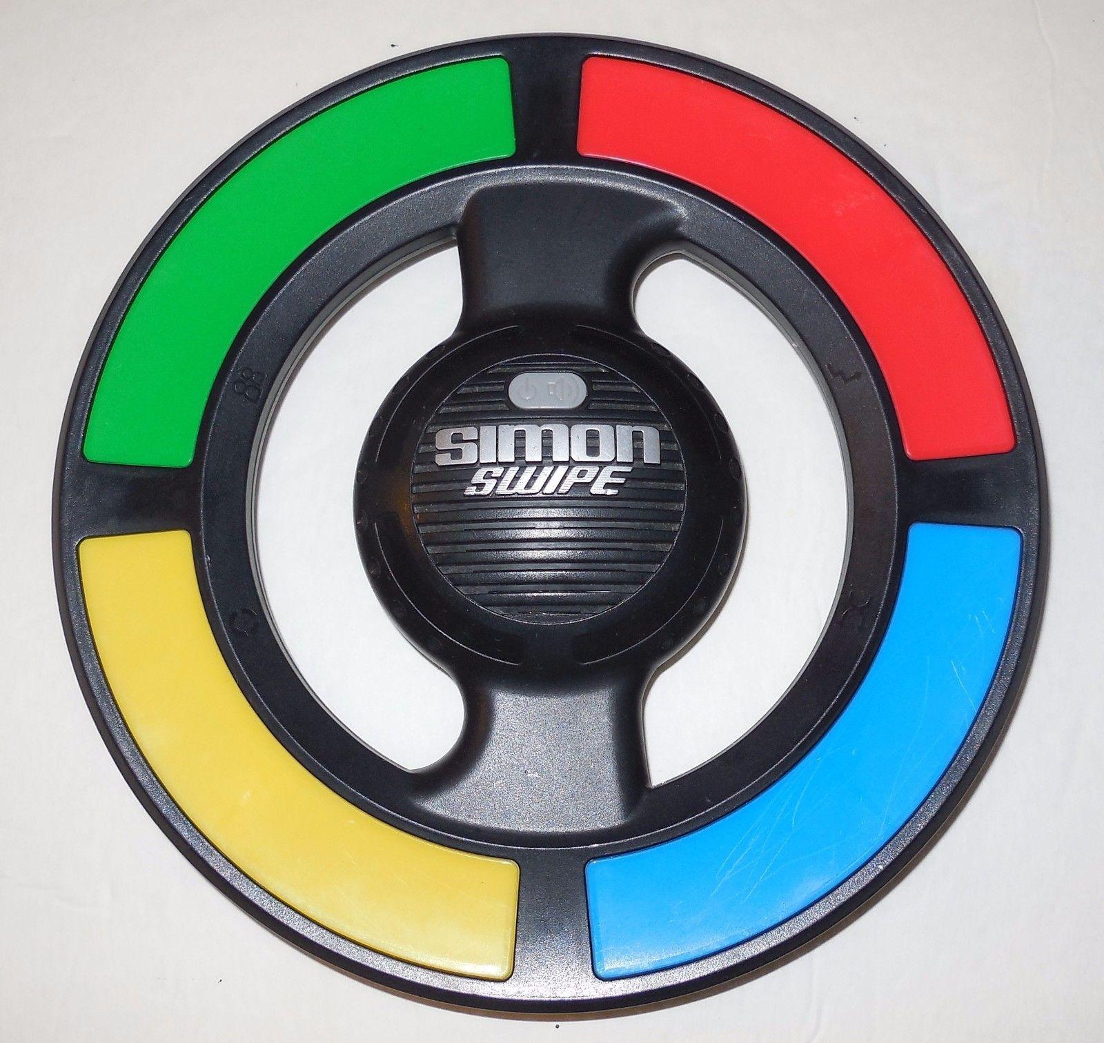 2013 Simon Swipe Full Size Electronic Game Milton Bradley Hasbro - $14.03