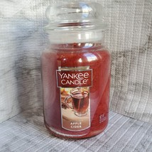 Yankee Candle Apple Cider Scented Candle, Large Glass Jar 22oz image 1