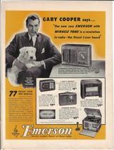Vintage Print Ads 1940's Color Radio Sets and Portables RCA Motorola Eme... - $9.00