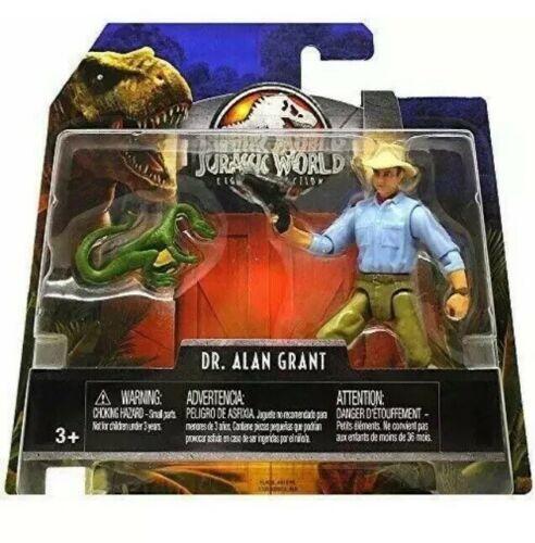 Jurassic World Legacy Dr. Alan Grant Figure 2018 MOC Mattel