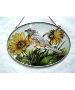 Vintage Ripper Bird with Flowers Sun Catcher National Wildlife Federation - $19.99