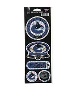 "NHL Vancouver Canucks Prismatic Decal, 4"" x 11"" - $8.95"