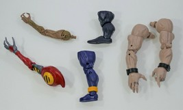 Marvel BAF Build A Figure Pieces - Sugar Man, Strong Guy, Spiderman Robo... - $37.00
