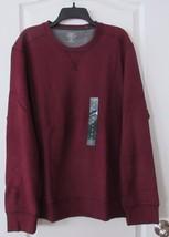 G.H. Bass Crew Neck Sweatshirt  CHOCO TRUFFLE HEATHER (wine) Men's Sz XL... - $24.20