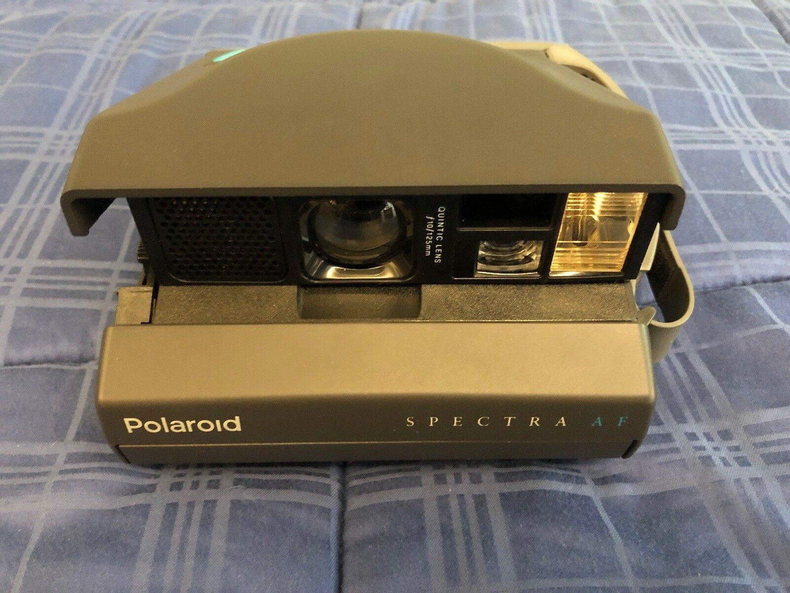 Polaroid Spectra AF Instant Film Camera - Original Box & Instructions