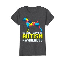 Boxers Support Autism Awareness T Shirt - $19.99+