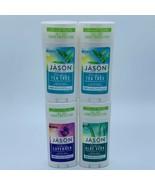 VARIETY LOT OF 4 JASON CLINICALLY PROVEN VEGAN FRIENDLY DEODORANT 2.5 OZ... - $29.69