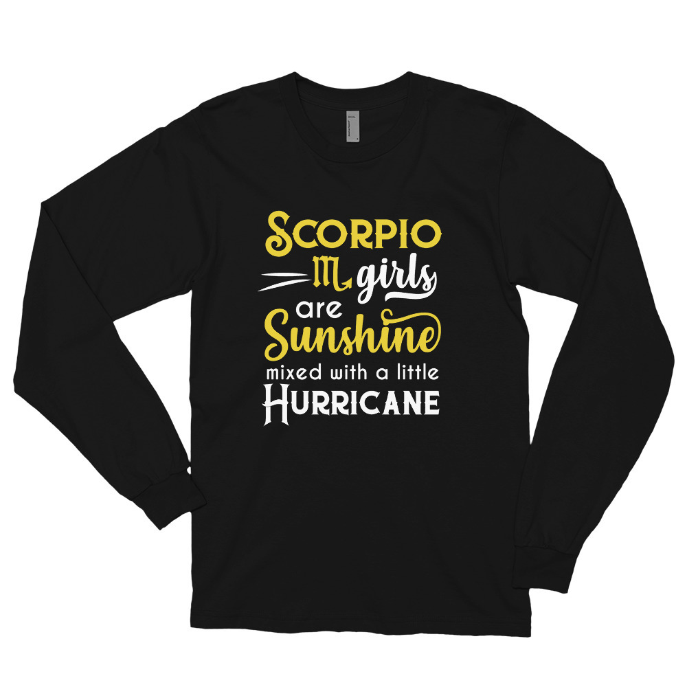 Primary image for Scorpio Girls Are Sunshine Mixed With A Little Hurricane Zodiac Star Sign Birthd