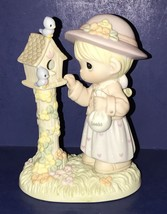 ADORABLE HTF PRECIOUS MOMENTS #550041 I WILL ALWAYS CARE FOR YOU FIGURINE - $35.63