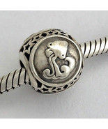 Authentique Pandora Aquarius Signe Du Zodiaque Breloque en Argent Sterling - $54.15