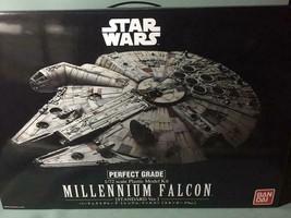 BANDAI 1/72 Star Wars PERFECT GRADE MILLENNIUM FALCON STANDARD Ver NEW K... - $344.52