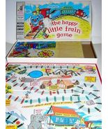 1957 Antique Milton Bradley HAPPY LITTLE TRAIN Game - $22.49