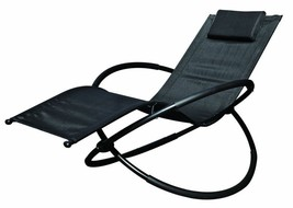 Large Rocking Sun Lounger Garden Chair Pillow Conservatory Pool Beach Co... - €93,52 EUR
