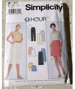 Simplicity 8740 Misses One hour Skirt, pants, Capris, Shorts size l cut - $5.50