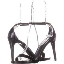 Steve Madden Stecy Ankle Strap Dress Sandals, Black, 9 US - $26.87