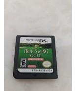 True Swing Golf Demo Cart NFR Nintendo DS USA Version Kiosk w/ Back Sticker - $9.89