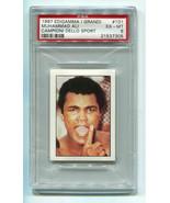 1997 Edigamma DelloSport #101 Muhammad Ali Cassius Clay PSA 6 EX-MT Boxi... - $98.01