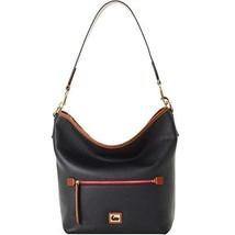 Dooney & Bourke Camden Pebble Hobo Shoulder Bag Black