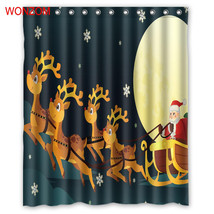 Natal Merry Christmas 57 Shower Curtain Waterproof Polyester Fabric For ... - $33.30+