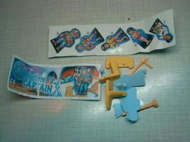 Kinder - 2003 Bedtime fur Captain X + paper + sticker - surprise egg - $1.50