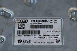 Audi S5 S6 Q5 Radio Audio Stereo Amp Amplifier 8t0-035-223AN Bang & Olufsen image 8