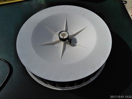 """7FFF30 SQUIRREL CAGE FAN IMPELLER: 200MM DIAMETER, 50MM TALL, FOR 3/8"""" D... - $13.63"""