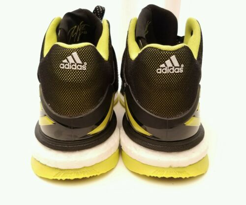 Adidas Shoes RG3 RG III Boost Trainer Robert Griffin Size 7 Black Yellow