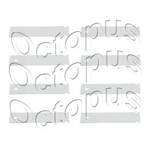 8 Pack Dryer Drum Slide Fits GE Hotpoint WE1M1067 WE1M333 WE1M481 - $9.80