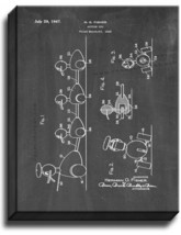 Action Toy Patent Print Chalkboard on Canvas - $39.95+