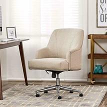Serta Style Leighton Home Office Chair, Twill Fabric, Beige - $205.85