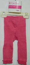 RuffleButts RLKCA000000 Candy Ruffle Tights Hot Pink Size 0 to 6 Months image 1
