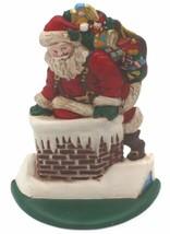 Large Vintage MIDWEST Solid Cast Iron Santa Cannon Falls Gorgeous 8H x 6... - $35.99