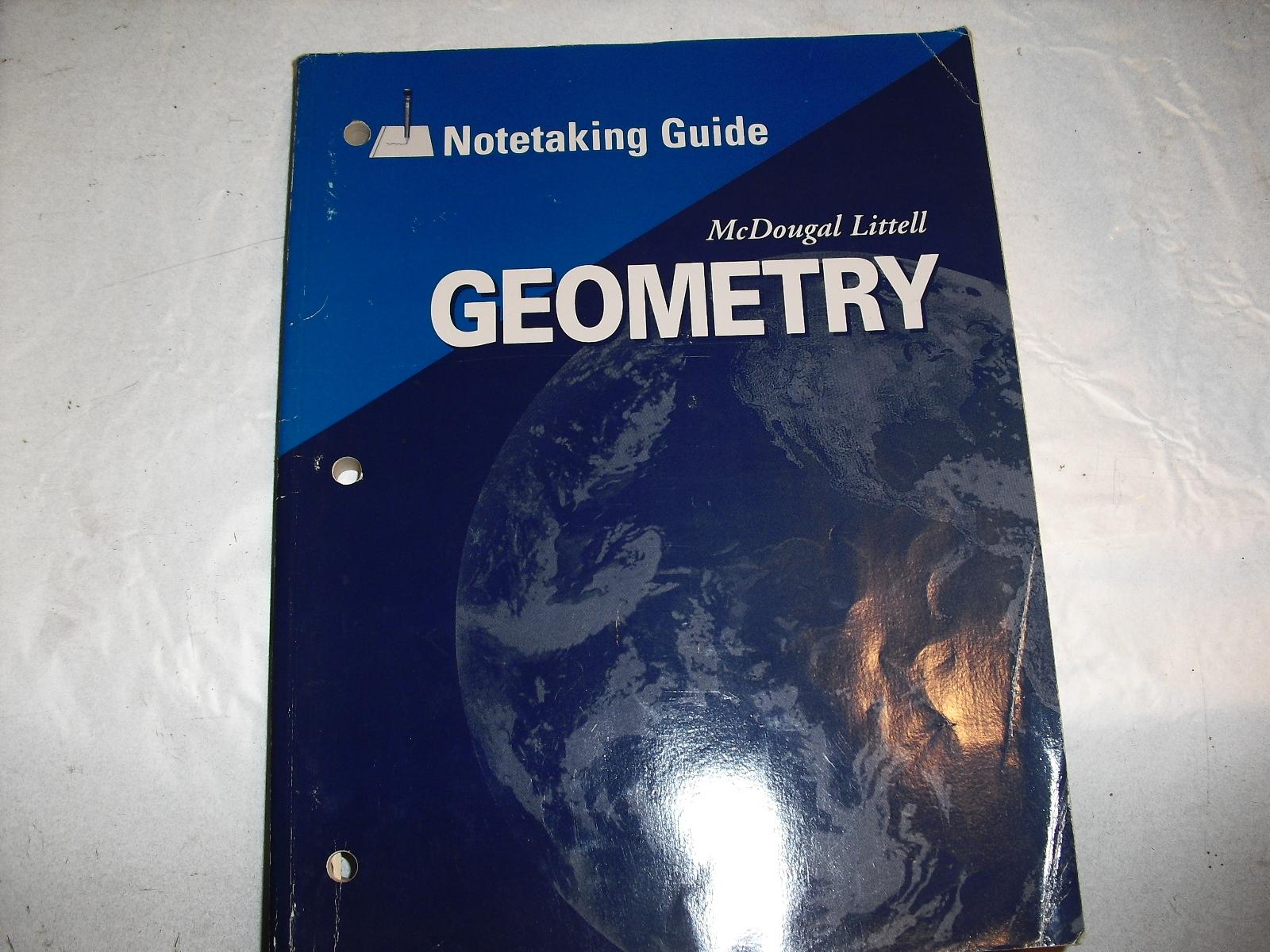 geometry  note taking  by  mcDougal L
