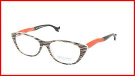 Face A Face Eyeglasses Frame BOCCA SEXY 1 Col. 252 Acetate Fiber Wite Orange - $316.62
